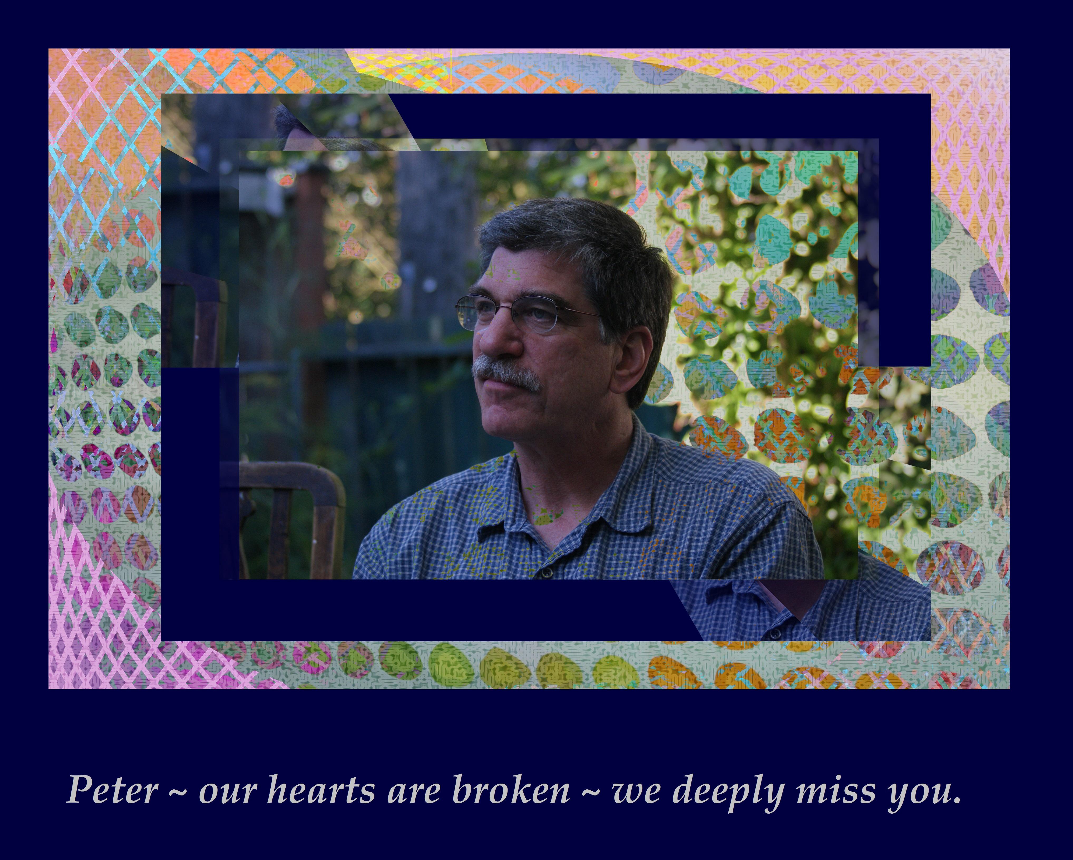 Peter Golden, RIP.