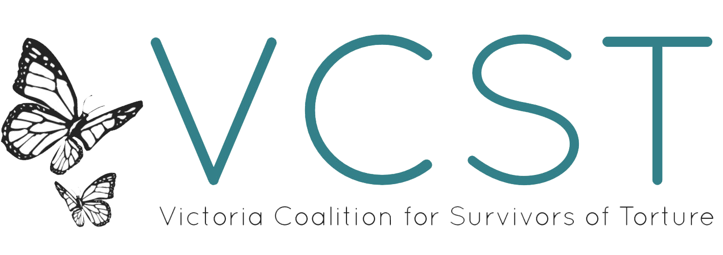 VCST Victoria Coalition for Survivors of Torture.