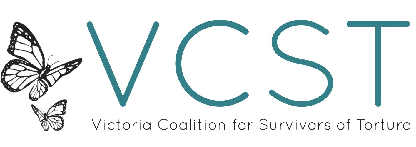 VCST Victoria Coalition for Survivors of Torture.