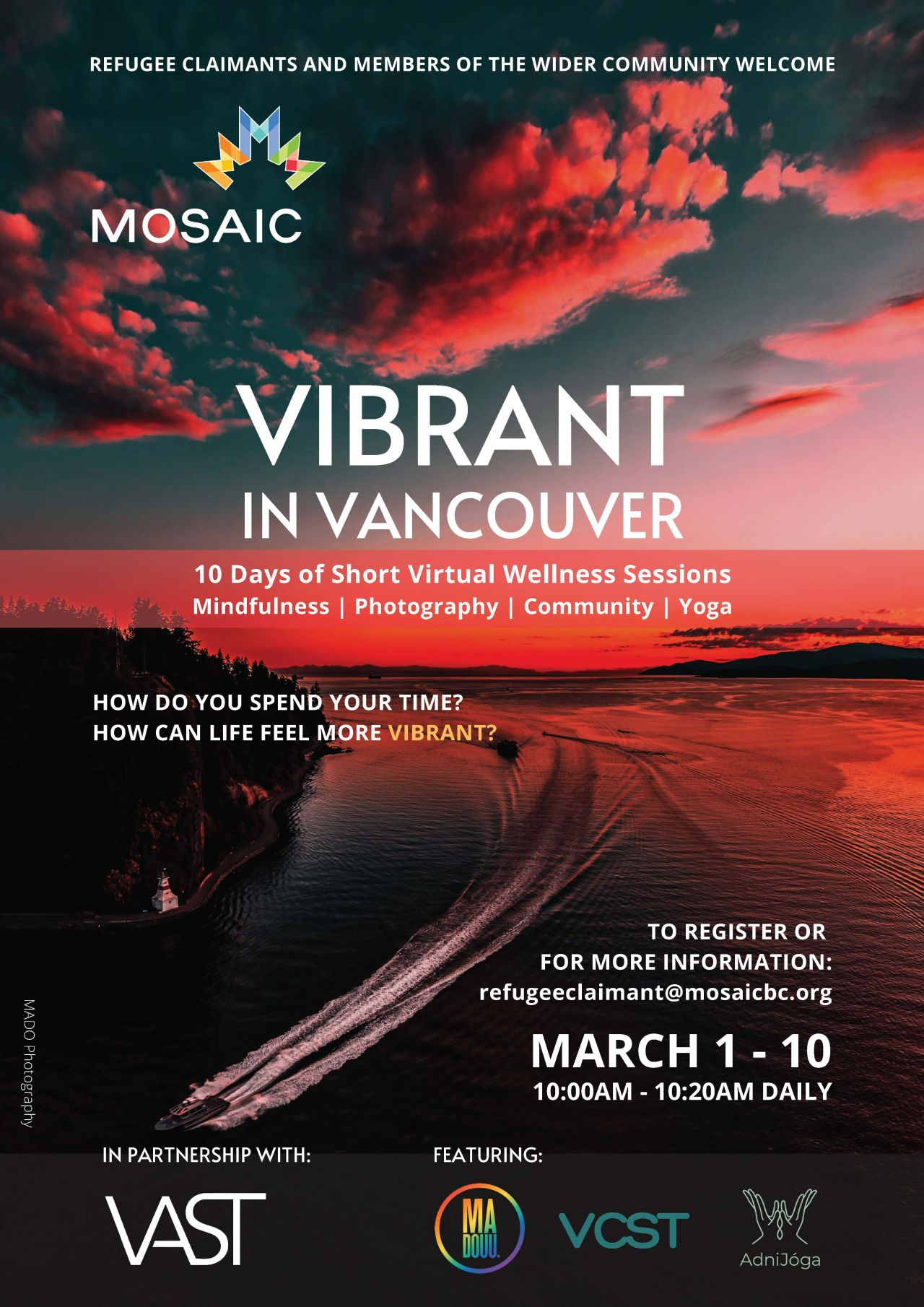 Vibrant in Vancouver, by MOSAIC.
