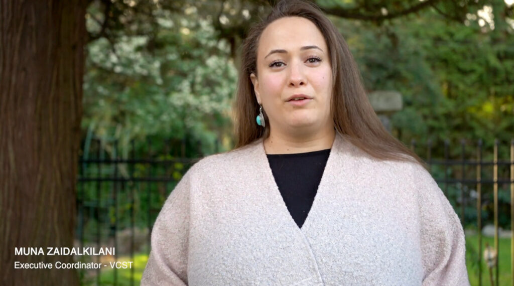 Muna Zaidalkilani from VCST.